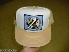 f35769a8c5131 Lions Club International hat vintage foam Mesh Trucker SNAPBACK Rose Parade  2001