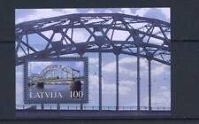 Latvia 2004 SG MS 623 Railway Bridge Riga MNH