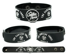 The Cadillac Three wristband rubber bracelet