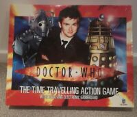 Doctor Who The Time Travelling Action Game. Revolving Electronic Board COMPLETE