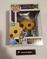 Funko Pop! Television 823 The Simpsons Treehouse of Horror Alien Maggie Pop