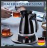 Electric Turkish Greek Coffee Maker Machine Tea Moka Pot Ibrik w/ Folding NEW
