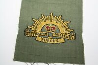Australian Military Forces   Rising Sun  Cloth Patch Unused