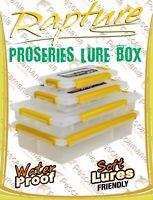 scatola porta artificiali Rapture con chiusura ermetica soft lure friendly