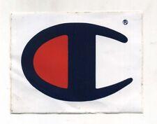 Adesivo CHAMPION USA Promo Pubblicità advertising sticker vintage 13 x 10 cm