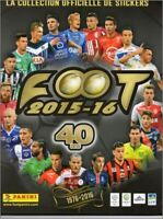 TOULOUSE - STICKERS IMAGE VIGNETTE - PANINI FOOT 2015 / 2016 - a choisir