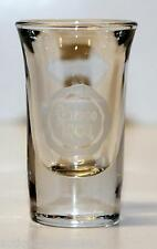 SHOT GLASS SHOOTER CUERVO 1800 tequila (design in white & clear)