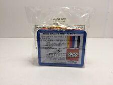 Lego Metal Lunchbox 5006017 Original Patent Design Rare Promo Bright Colors NEW