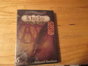 sealed 6 cds THE SCARLET LETTER by NATHANIEL HAWTHORNE read by CLARK & BARBER