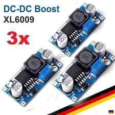 3x xl6009 DC-DC Boost módulo step up lm2577 circuito regulador convertidor Arduino