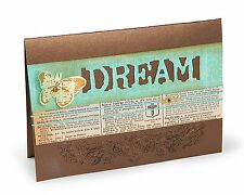 Sizzix DREAM Movers/Shapers magnetic die #657199 Retail $15.99 Tim Holtz!