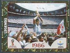 Panini Fifa World CUP-2018 Russia- #676-LEGENDS-ARGENTNA-MARADONA-WINNERS-1986