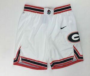 Nike Elite Posterize Georgia Bulldogs Game Basketball Short Men's Medium AV2092