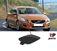 FOR VOLVO S60 V60 2010 - 2013 NEW FRONT BUMPER TOW HOOK EYE COVER CAP PRIMED