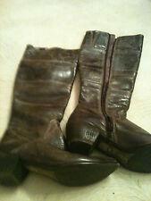 Echt Leder Stiefel von Spiral Made in Spain selten getragen sehr guter Zustand