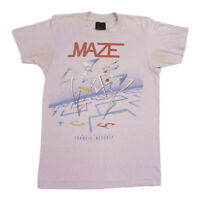 Maze Featuring Frankie Beverly Back on Stride Tshirt | Vintage 80s US Soul Band