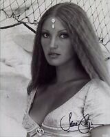 JANE SEYMOUR HAND SIGNED 8x10 PHOTO+COA        YOUNG+GORGEOUS POSE