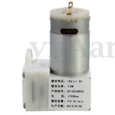 Micro Vakuumpumpe Vakuum Kammer Vacuum Pumpe Medizin Haushaltsgeräte DC12V 50Kpa