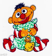 New listing Sesame street ernie fabric applique iron on babies baby duck 2.5 inch
