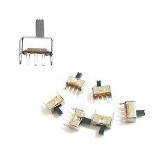 1 stk. 3-polig PCB 2 Positionen SPDT 1P2T Miniatur vertikal Schiebeschalter