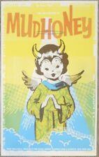 2011 Mudhoney - Portland Silkscreen Concert Poster s/n by Joanna Wecht