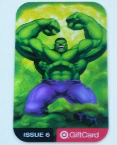 Target Gift Card - The Hulk - Marvel - 2004 - Foil Accent - No Value - I Combine
