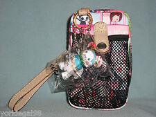Lesportsac Tokidoki Citta Rosa Portatelefono Cell Phone Case Wristlet With Qee