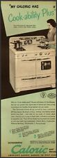 1950 Vintage Ad for Caloric Gas Ranges (020912)