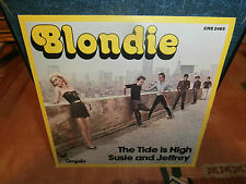 "blondie""the tide is high""single7""or.fr.chrysalis:chs2465 de 1980."