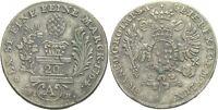 Augsburg Kaiser Franz I., 1745 - 1765 20 Kreuzer 1764 Doppeladler #309