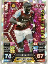 Match Attax 2013/14 Premier League - #356 Mohamed Diame - Star Player