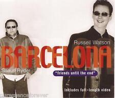 RUSSELL WATSON & SHAUN RYDER - Barcelona (UK 4 Tk Enh CD Single)