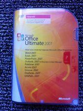 Microsoft Office ULTIMATE 2007, versione aggiornamento-con IVA fattura dal rivenditore