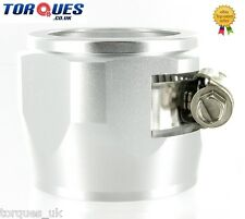 AN -18 (AN18) 35mm Silver Fuel Hose Clamp Finishers - For hose with 35mm O.D