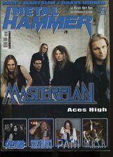 METAL HAMMER 1/2005 MASTERPLAN KREATOR SEBASTIAN BACH PAIN WASP RAGE
