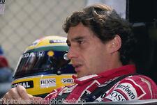 "Ayrton Senna 12 off 6""x4"" photos-print from orig. image"