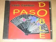 CD / LOUIS CAMBLOR ET SON ORCHESTRE / PASODOBLE / NEUF SOUS CELLO