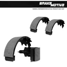 New Set Of Rear Semi-Metallic Parking Brake Shoes For 2009 2010 2011 Ford F150