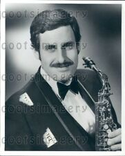 1970 Wire Photo Classical Saxophonist Harvey Pittel