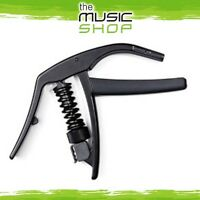 New D'Addario Waves Artist Guitar Capo - Black - CP-10