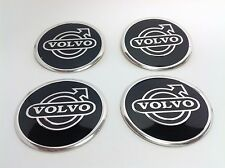 NEW 4pcs Decal Alu Stickers for Wheel Centre Cap Hubs for VOLVO  - 60mm