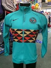Nike Club America 2020 N98 LE Soccer Jacket Teal  Black  Size Mans Medium Only