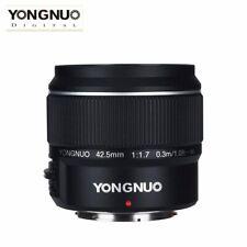 YONGNUO YN42.5mm F1.7M Large Aperture Auto Focus Lens F M4/3 Olympus E-PL9 G8H5