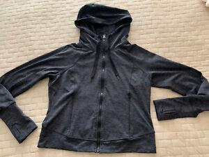Champion Grey Duo Dry Hooded Long Sleeve Full Zip Active Wear Jacket Women's XS