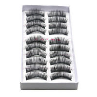 10 Pairs Soft False Eyelash Eyelashes Eye Lashes Makeup Long Thick Brand 2017~