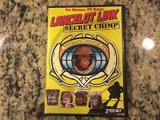 LANCELOT LINK SECRET CHIMP RARE OOP 2 DISC DVD SET! 1970-1972 5 HOURS TOTAL HTF!