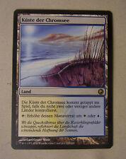 Sammelkartenspiel Magic the Gathering MtG KÜSTE DER CHROMSEE Land Rare