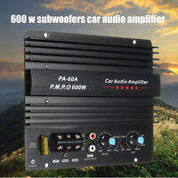 Digital HIFI Audio Amplifier Module Super Bass Amp DC 12V AMP Car Home Stereo
