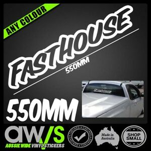 FASTHOUSE 550mm STICKER DECAL / LKI UNIT MX KTM YZ CR KX RM MOTO DIRTBIKE 4X4