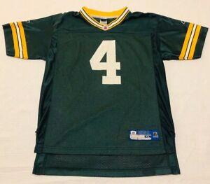 Vintage Green Bay Packers Brett Favre Youth Football Jersey XL (18-20) Reebok